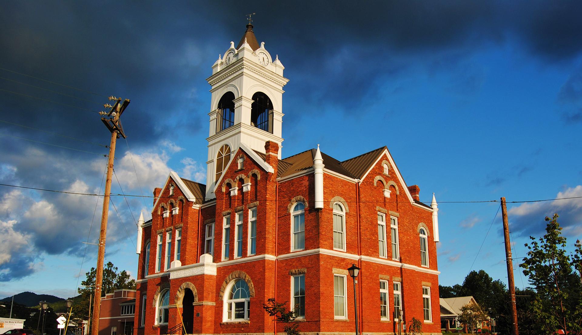 Blairsville, GA Courthouse Banner